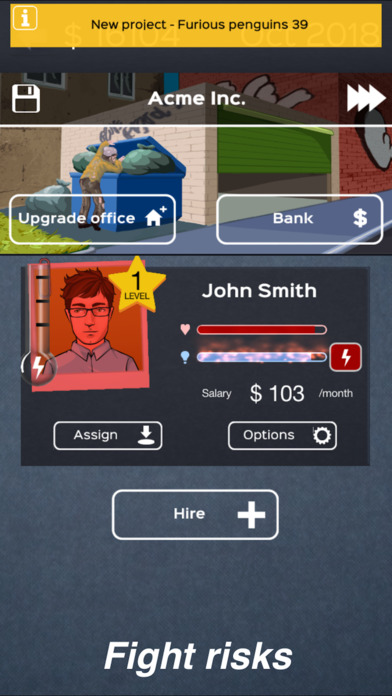 Business Inc: Startup Simulator Game