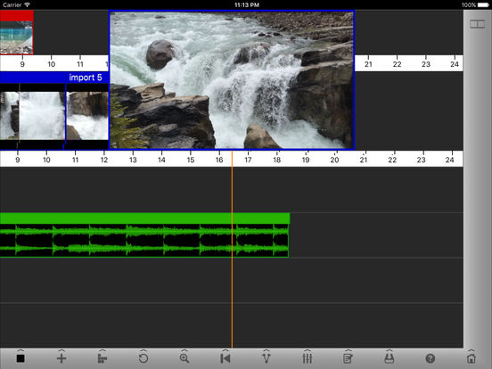 Voddio - Video Audio Editor screenshot