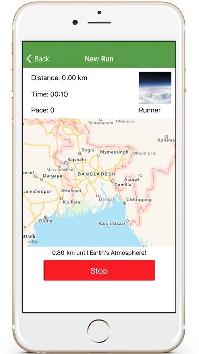 Run Tracker : Walk / Run in Map and Keep History . Screenshots
