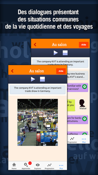Anglais Business avec MosaLingua : apprendre l'anglais Pro Screenshots