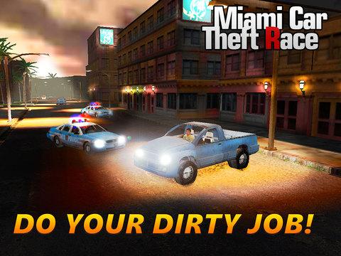Miami Crime Car Theft 3D Full Screenshots