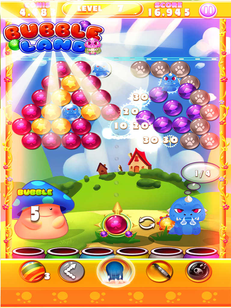 Toy Blast Saga Game Free : App shopper bubble land shooter pop toy witch mania