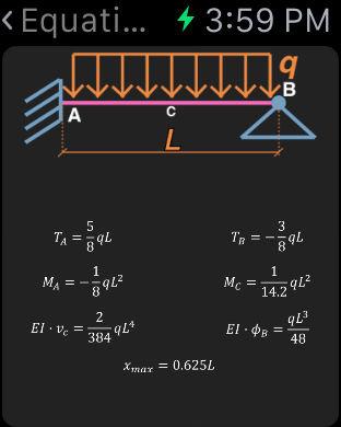 Statics (Civil Engineering) iPhone Screenshot 8