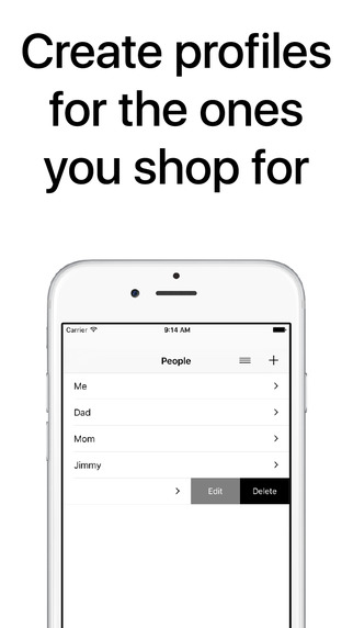 Clothes Organizer - Size Manager for Shoes, Clothing, and Fashion Shopping Screenshots
