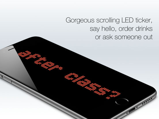 LED Text - gorgeous banner LED/LCD message display app Screenshots
