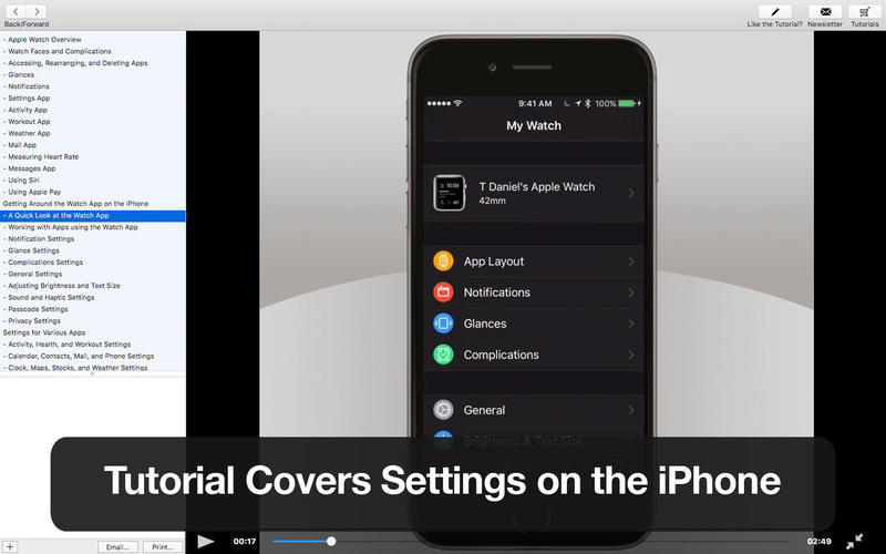Tutor for Apple Watch 2 Screenshot - 2