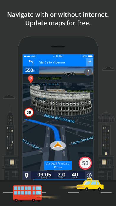 Sygic Europe & Russia: GPS Navigation Screenshots