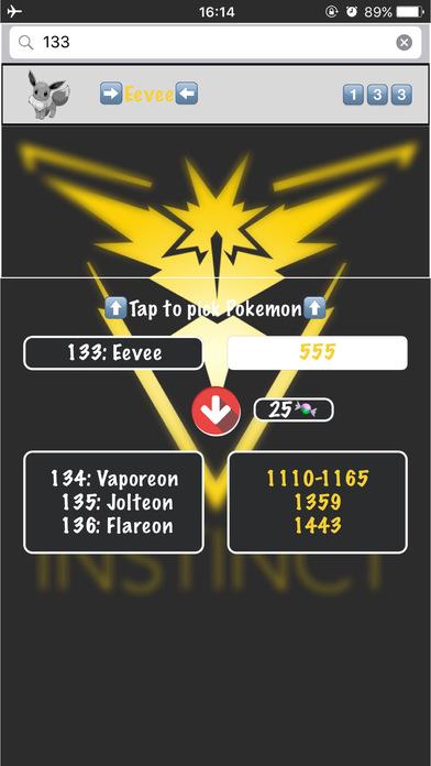 download evolution cp calculator for pokemon go ios apps