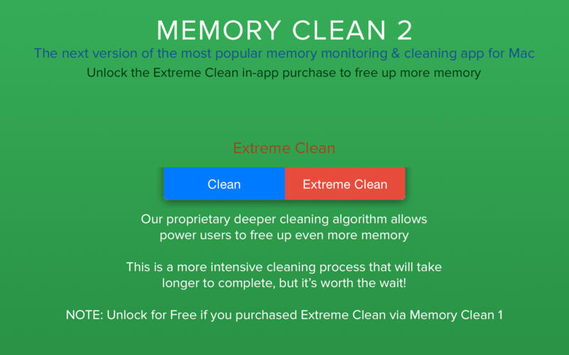 Memory Clean 2 Screenshot