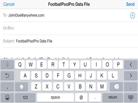 FootballPoolPro iPad Screenshot 2