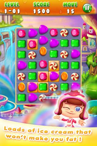 Sweet Sugar: Drop Matching screen