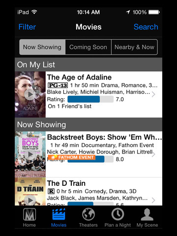 Movie Night Out with FirstLook Sync screenshot