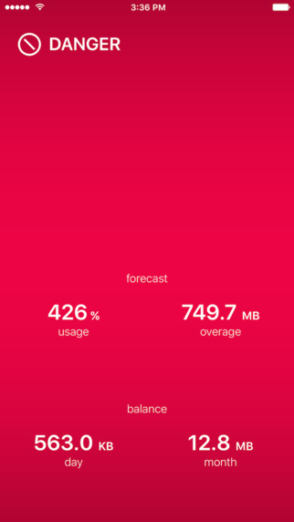 DataMan Pro - the smartest app to manage your data usage Screenshots