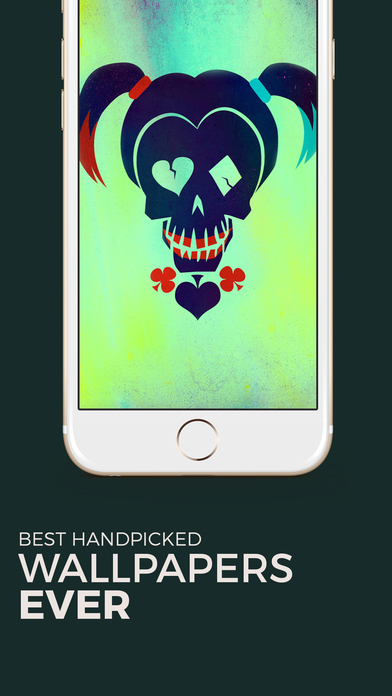 Screenshots of Wallpapers Suicide Squad Edition for iPhone