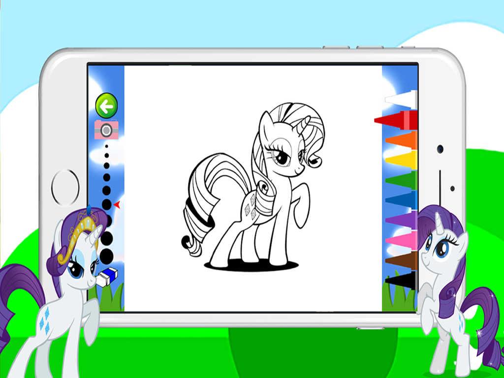 App Shopper Pony Coloring Games For Girls