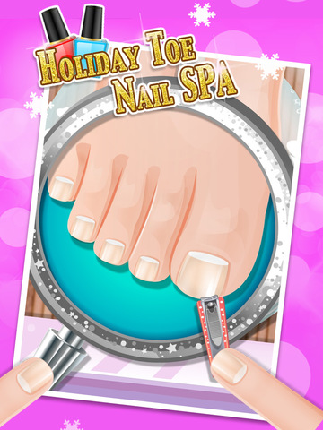 Holiday Foot Nail Art - kids gamesscreeshot 2