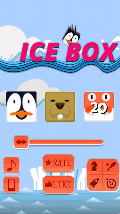 Ice Penguin Tower Box Screenshot