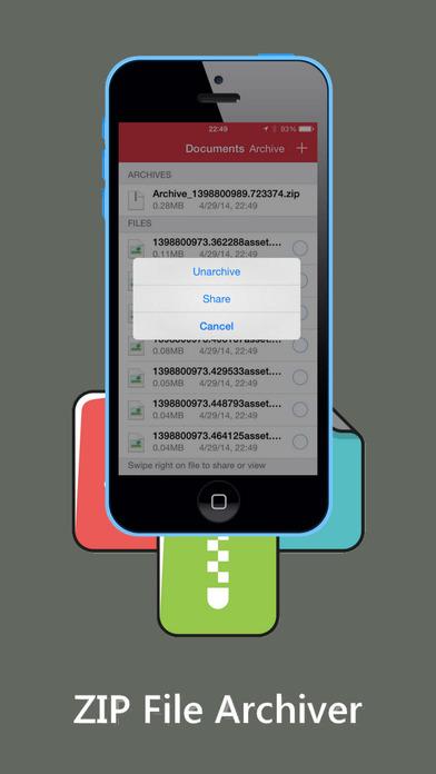 ZIP - ZIP UnZIP Archiver and Tool Screenshots