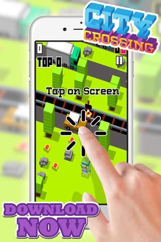 City Crossing Game Adventure for Teenage Mutant Ninja Turtles TMNT Version screen