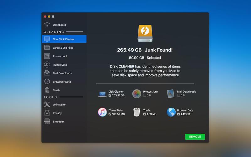Disk Cleaner Screenshot - 5