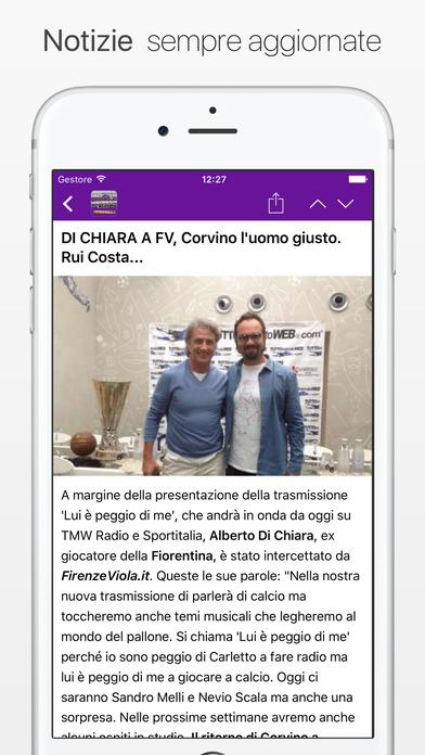 FirenzeViola.it iPhone Screenshot 1
