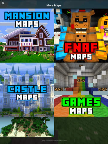 FNAF MAPS For Minecraft PE The Best Maps For Minecraft Pocket - Minecraft maps fur ipad