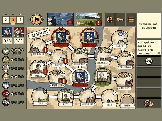Screenshot #3 for Maquis Board Game