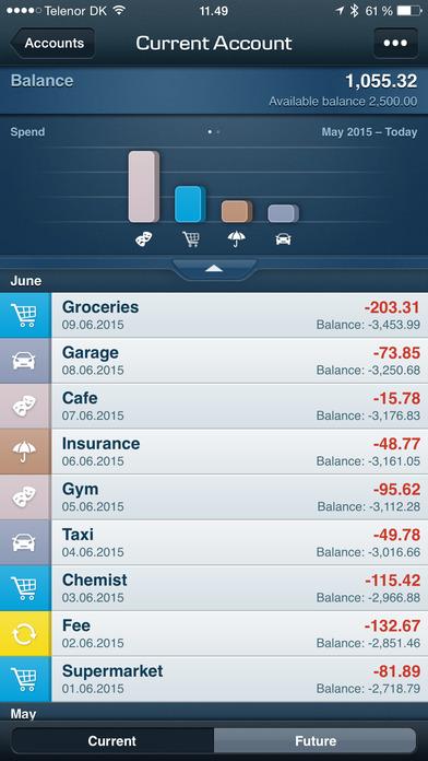 Northern Bank iPhone Screenshot 2