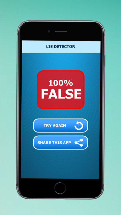 Lie Detector Simulator Prank - Fun With Friends & Family with the Prank Lie Detector Simulator App iPhone Screenshot 4