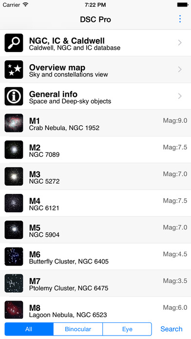 Deep Sky Companion Pro iPhone Screenshot 1