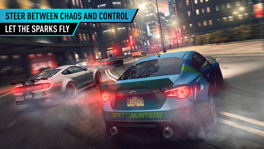 Need for Speed No Limits iOS screenshot