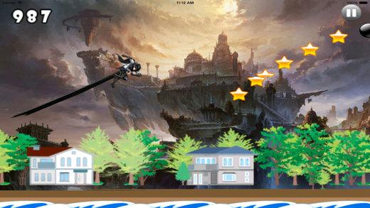 A Wild Jump - Amazing Jungle Jump Endless Game Screenshot