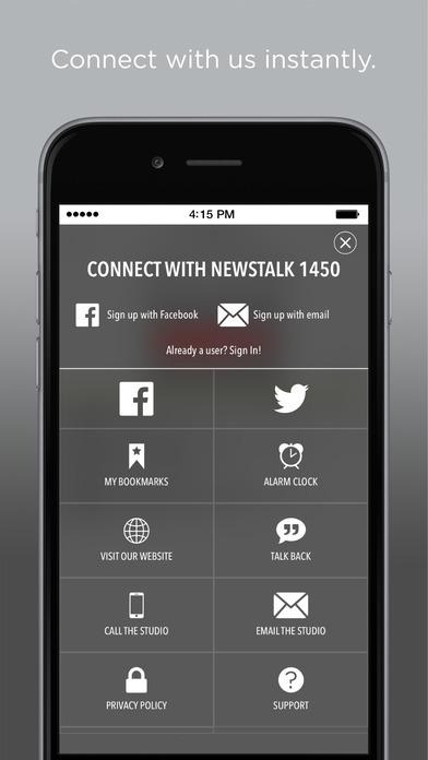 WOL-AM: News Talk 1450 iPhone Screenshot 2