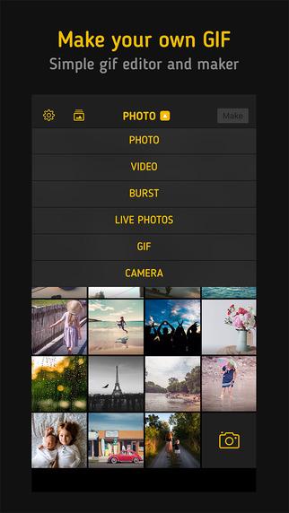ImgPlay Pro - GIF Maker Screenshots