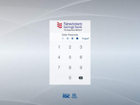 Newtown Savings Bank Mobile Screenshots