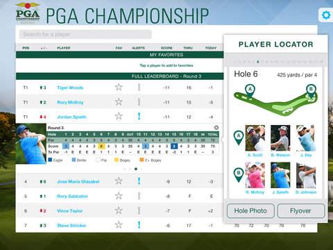 PGA Championship iPad Screenshot 4