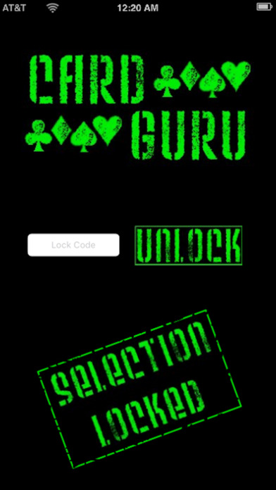 CardGuru iPhone Screenshot 2