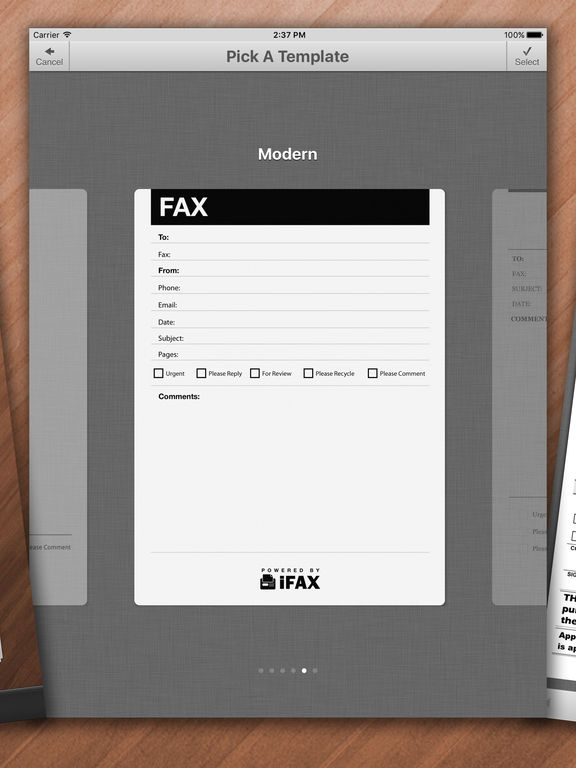 iFax – Send Fax & Receive Faxes (with FREE Trial) screenshot