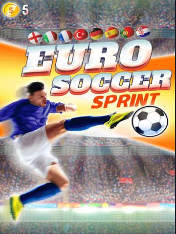 Euro Soccer Sprint screenshot 6