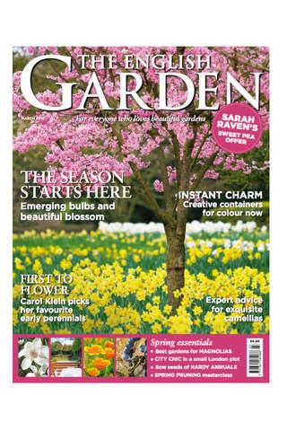 The English Garden Magazine screen