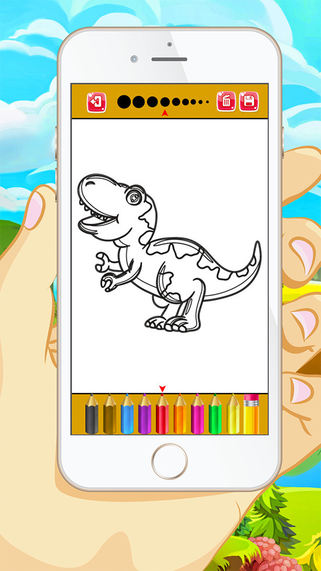 App Shopper Dinosaur Coloring Book