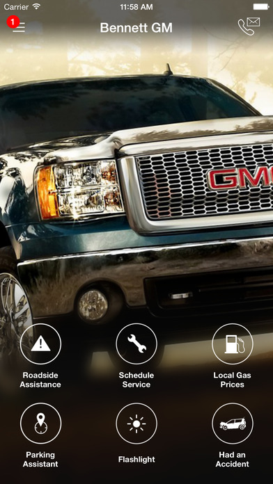 Bennett GM DealerApp iPhone Screenshot 1