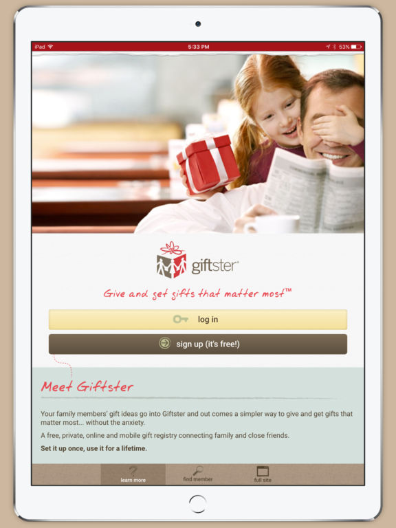 Giftster - wish list registry for holiday, birthday, baby screenshot