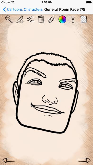 Учимся как рисовать Герои Мультфильмов (версия) Скриншоты5