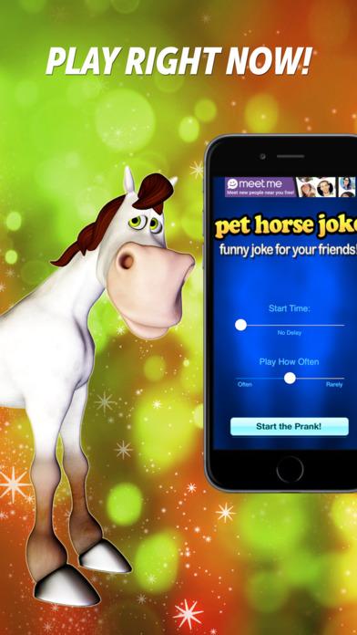 Pet Horse Joke iPhone Screenshot 1