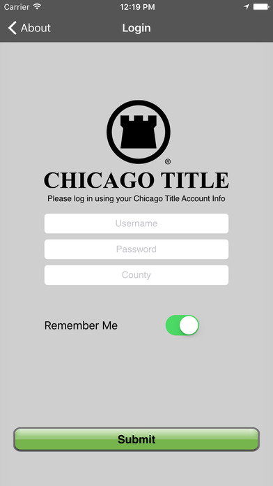 Chicago Title Direct iPhone Screenshot 1