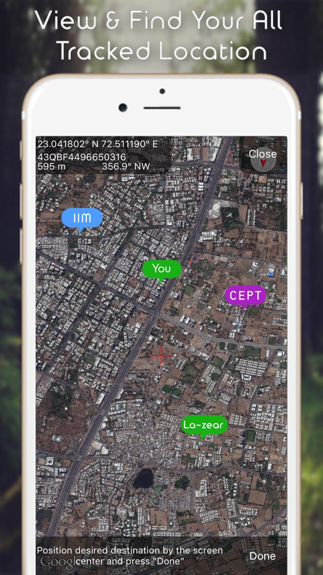 Compass Heading - GPS Navigation Finder Скриншоты6