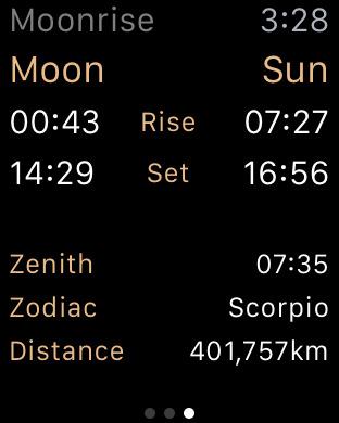 Full Moon - Moon Phase Calendar and Lunar Calendar Screenshots