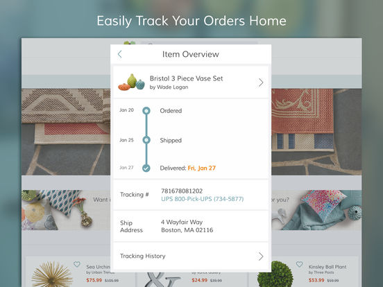 Wayfair - Furniture, Home Décor, Daily Sales & more screenshot