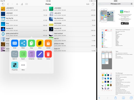 iFiles 2 - File Manager, Cloud Storage, PDF Reader Screenshots